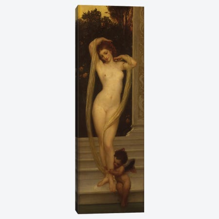 Venus and Cupid  Canvas Print #BMN5979} by Frederic Leighton Canvas Print