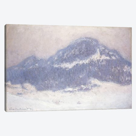 Mont Kolsaas, Misty Weather, 1895  Canvas Print #BMN5980} by Claude Monet Canvas Art