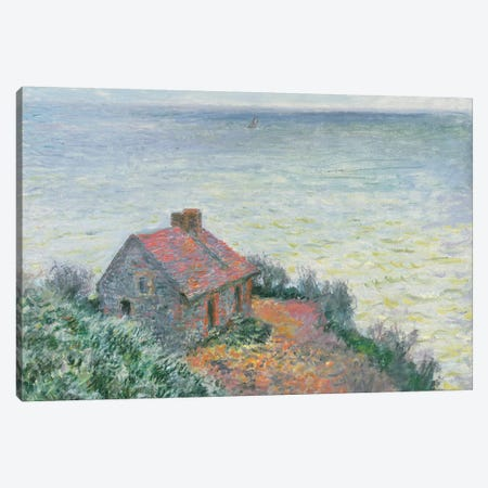 Customs Post at Dieppe, 1882  Canvas Print #BMN5982} by Claude Monet Canvas Art