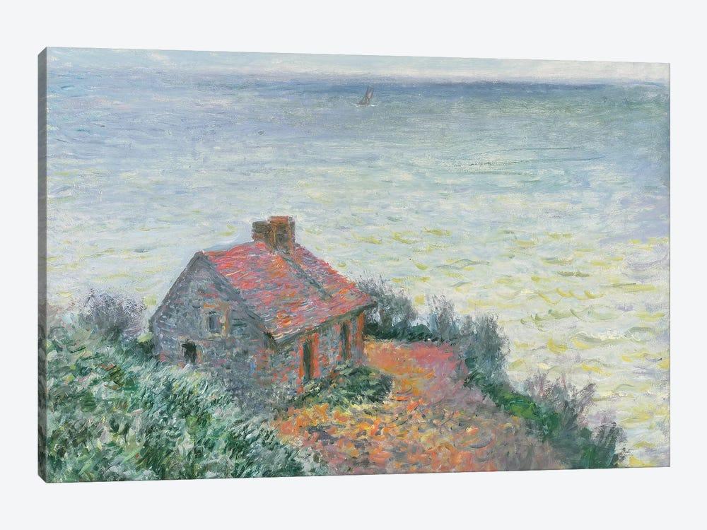 Customs Post at Dieppe, 1882  by Claude Monet 1-piece Canvas Art Print