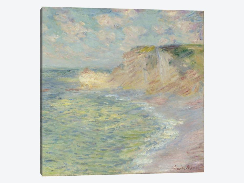 The Cliff Above, 1885  by Claude Monet 1-piece Canvas Artwork