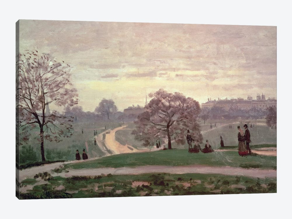 Hyde Park by Claude Monet 1-piece Canvas Wall Art