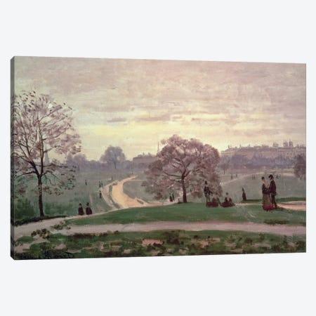 Hyde Park Canvas Print #BMN598} by Claude Monet Canvas Artwork