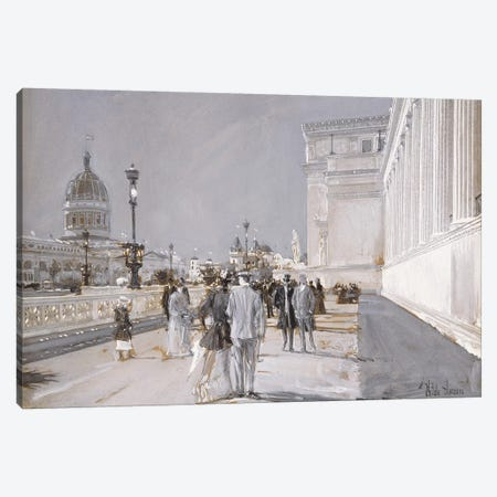 World's Fair, Chicago,  Canvas Print #BMN5990} by Childe Hassam Canvas Art Print