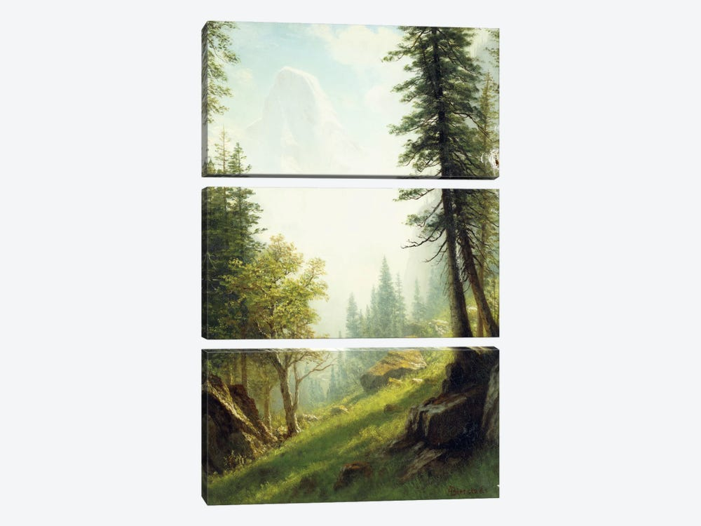 Among the Bernese Alps, by Albert Bierstadt 3-piece Canvas Art Print