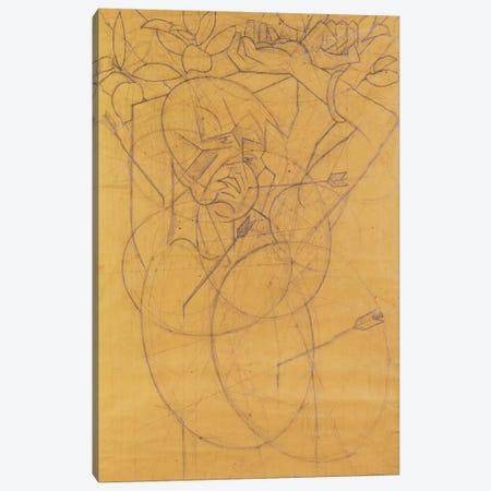 Kubista: Cupid striking Canvas Print #BMN59} by Unknown Artist Art Print