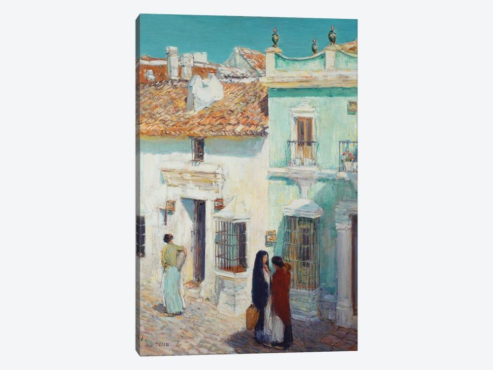 Street Scene, La Ronda, Spain, 1910  by Childe Hassam 1-piece Art Print