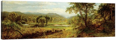 The Saw Mill River,  Canvas Art Print