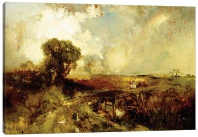 A Summer Shower, 1878  Canvas Art Print