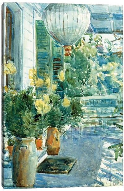 Veranda of the Old House, 1912  Canvas Art Print