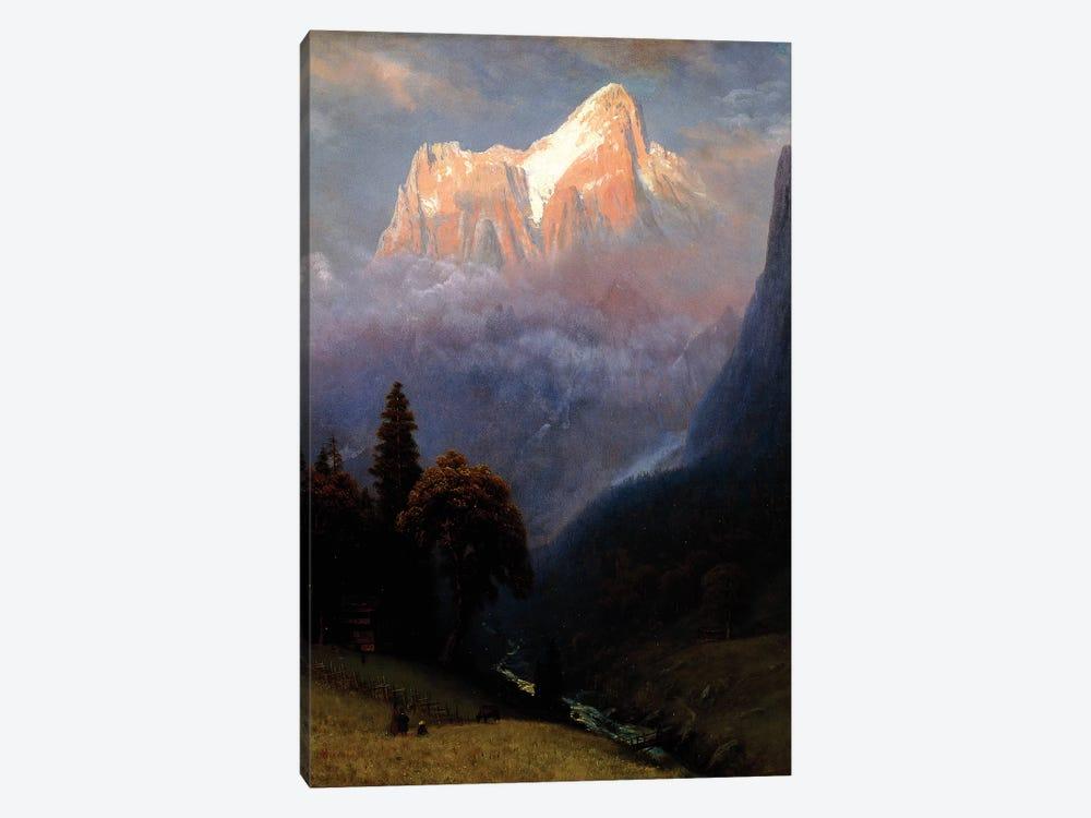 Storm Among the Alps, c.1856  by Albert Bierstadt 1-piece Art Print