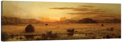 Sunrise, Hoboken Meadows, c.1875-1885  Canvas Art Print