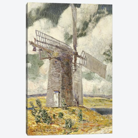 Bending Sail on the Old Mill, 1920  Canvas Print #BMN6011} by Childe Hassam Canvas Art