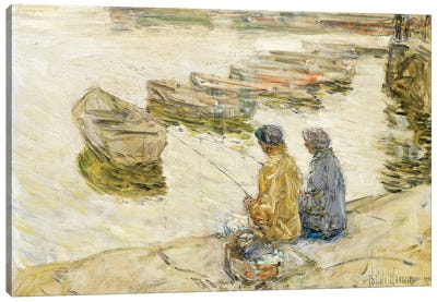 Fishing, 1896  Canvas Art Print