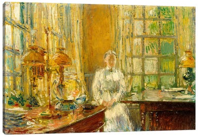 Mrs. Holley of Cos Cob, 1912  Canvas Print #BMN6015