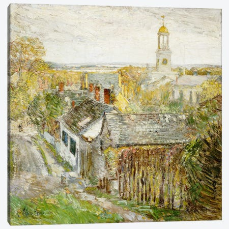 Quincy, Massachusetts, 1892  Canvas Print #BMN6016} by Childe Hassam Canvas Print