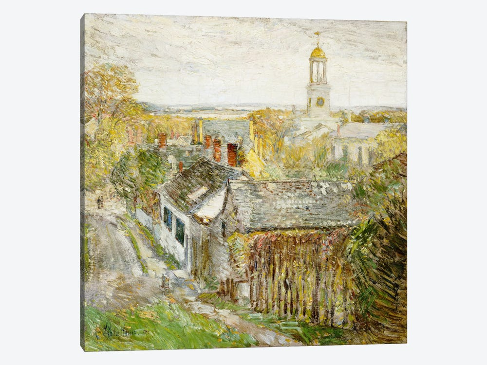 Quincy, Massachusetts, 1892  by Childe Hassam 1-piece Canvas Art