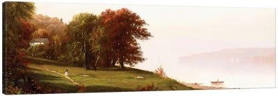 Landscape on the Hudson, c.1865  Canvas Art Print