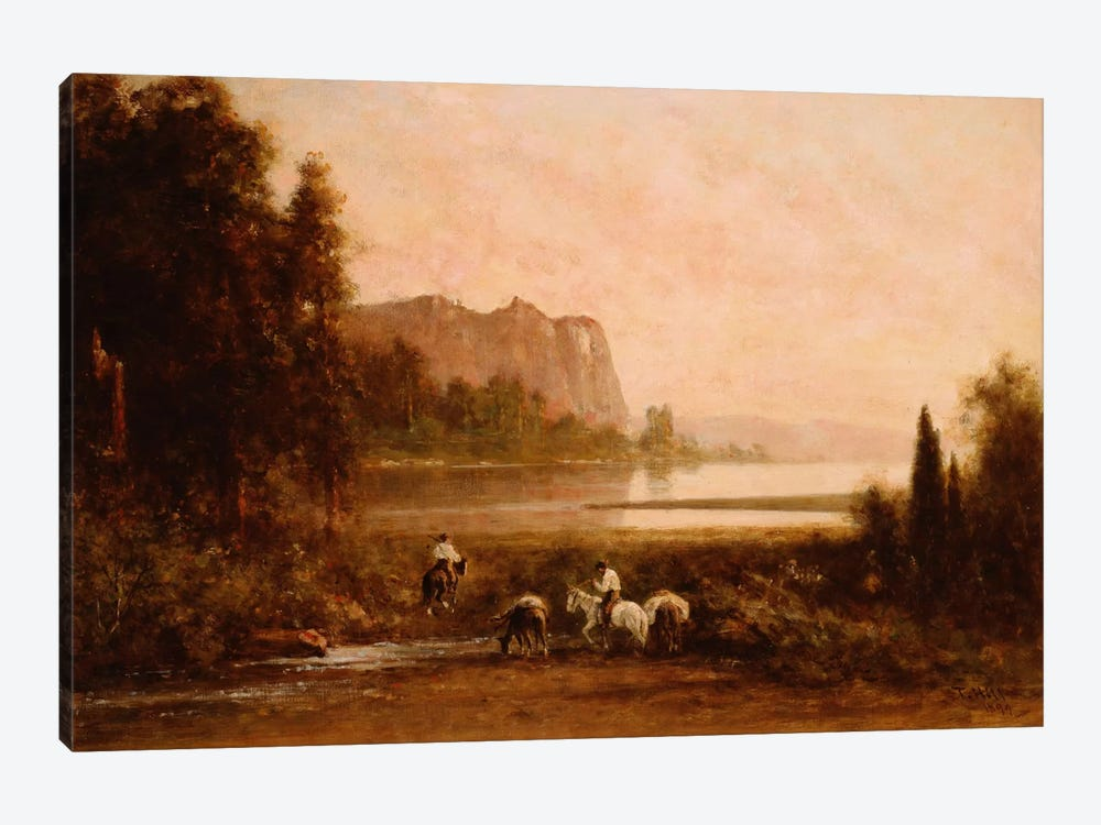 Trappers in Yosemite Mountains, 1899  by Thomas Hill 1-piece Canvas Art