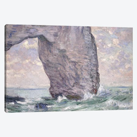 The Manneporte seen from Below, 1883  Canvas Print #BMN6031} by Claude Monet Canvas Art
