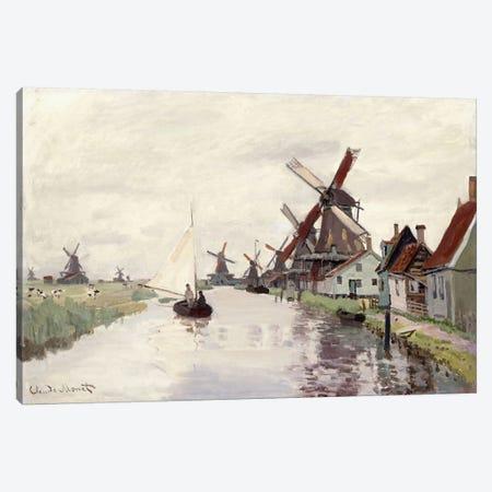 Windmill in Holland, 1871  Canvas Print #BMN6035} by Claude Monet Art Print