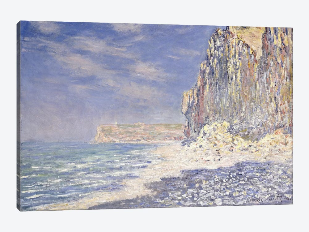 Cliff near Fecamp, 1881  by Claude Monet 1-piece Art Print