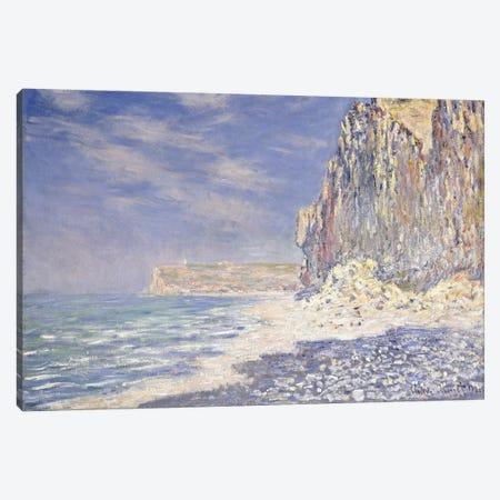 Cliff near Fecamp, 1881  Canvas Print #BMN6037} by Claude Monet Canvas Art Print