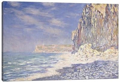 Cliff near Fecamp, 1881  Canvas Art Print