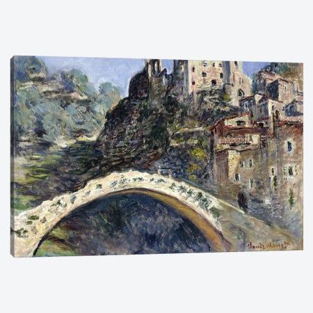 Dolceacqua, 1884  Canvas Print #BMN6038} by Claude Monet Canvas Artwork