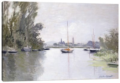 Argenteuil Seen from the Small Arm of the Seine, 1872  Canvas Print #BMN6040