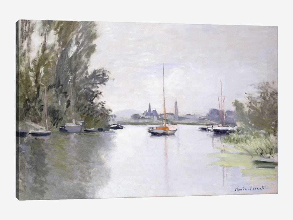 Argenteuil Seen from the Small Arm of the Seine, 1872  by Claude Monet 1-piece Art Print