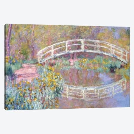 Bridge in Monet's Garden, 1895-96  Canvas Print #BMN6048} by Claude Monet Art Print