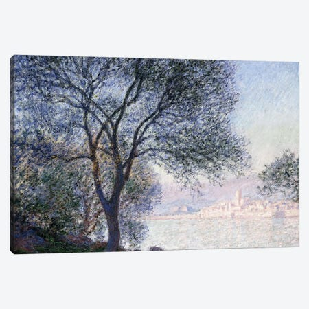 Antibes seen from the Salis, 1888  Canvas Print #BMN6049} by Claude Monet Canvas Print