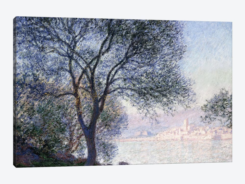 Antibes seen from the Salis, 1888  by Claude Monet 1-piece Canvas Art