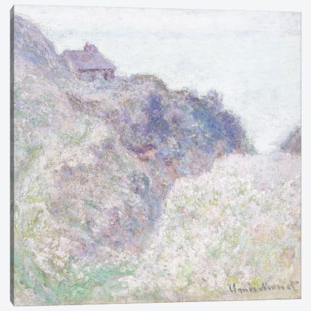 Cabane des Douaniers a Varengeville, 1897  Canvas Print #BMN6051} by Claude Monet Canvas Artwork