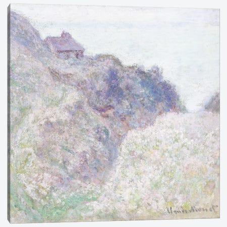 Cabane des Douaniers a Varengeville, 1897  Canvas Print #BMN6051} by Claude Monet Canvas Artwork