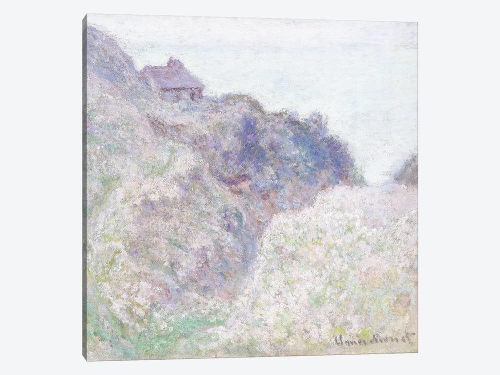 Cabane des Douaniers a Varengeville, 1897  by Claude Monet 1-piece Canvas Print