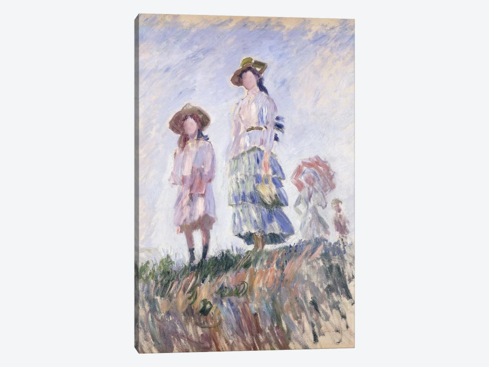 The Promenade, 1886 by Claude Monet 1-piece Canvas Print