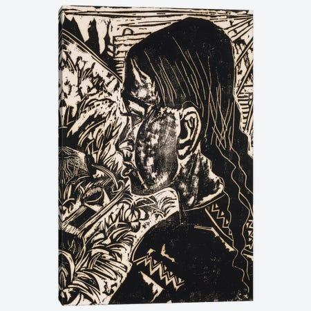 Dorli, 1917  Canvas Print #BMN6056} by Ernst Ludwig Kirchner Canvas Print