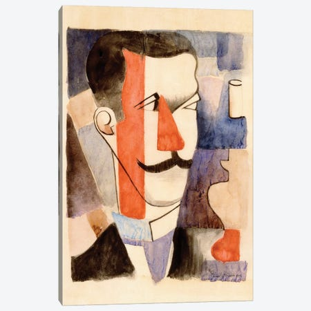 Study for Paludes, 1917-1920  Canvas Print #BMN6058} by Roger de la Fresnaye Canvas Art