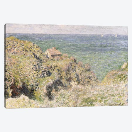 Varengeville Gorge, 1882  Canvas Print #BMN6059} by Claude Monet Canvas Wall Art