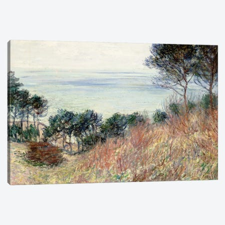The Coast of Varengeville, 1882  Canvas Print #BMN6061} by Claude Monet Art Print