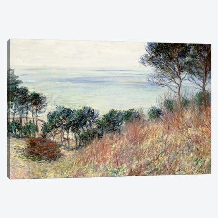 The Coast of Varengeville, 1882  Canvas Print #BMN6061} by Claude Monet Art Print