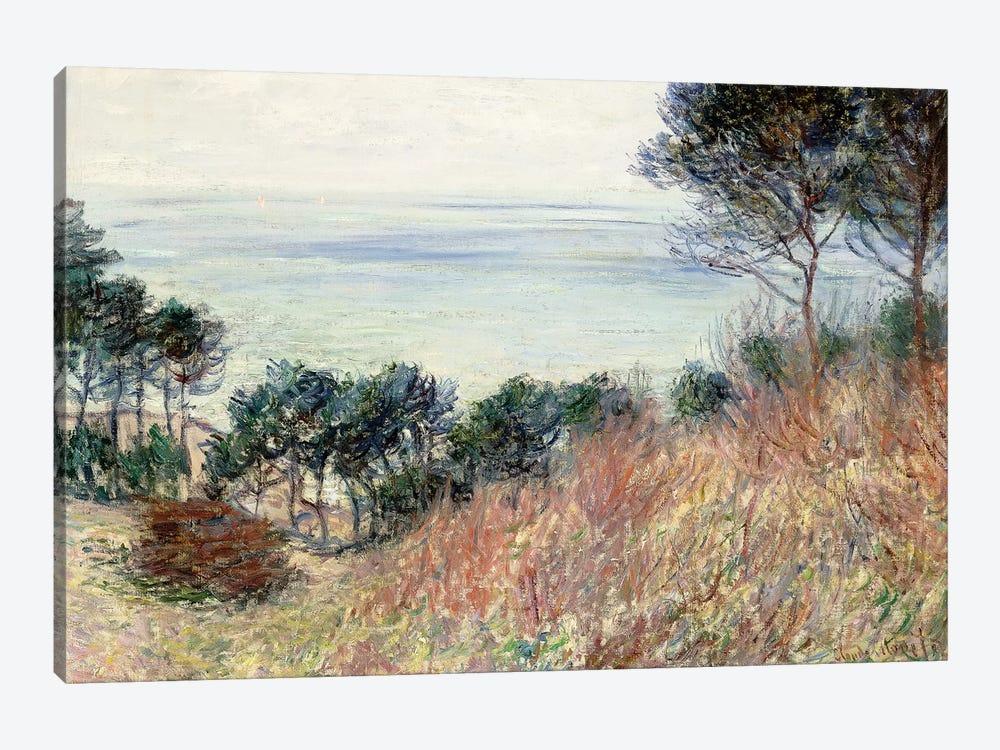 The Coast of Varengeville, 1882  by Claude Monet 1-piece Canvas Wall Art