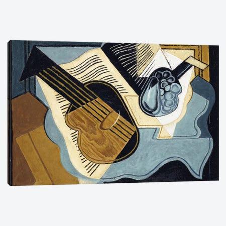 Guitar and Fruit-bowl, 1921  Canvas Print #BMN6063} by Juan Gris Canvas Art Print