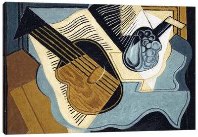 Guitar and Fruit-bowl, 1921  Canvas Art Print