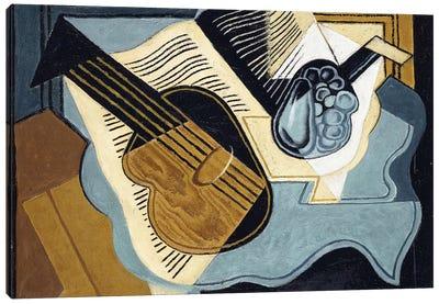 Guitar and Fruit-bowl, 1921  Canvas Art Print