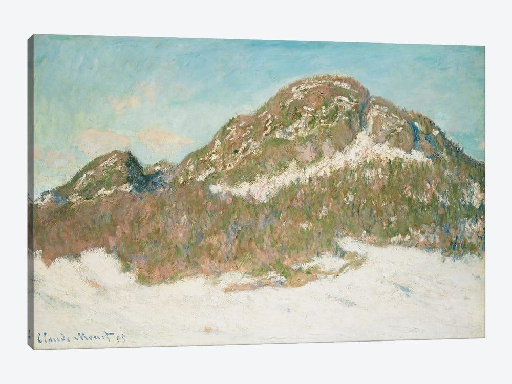 Mount Kolsaas, Sunlight Effect, 1895  by Claude Monet 1-piece Canvas Art