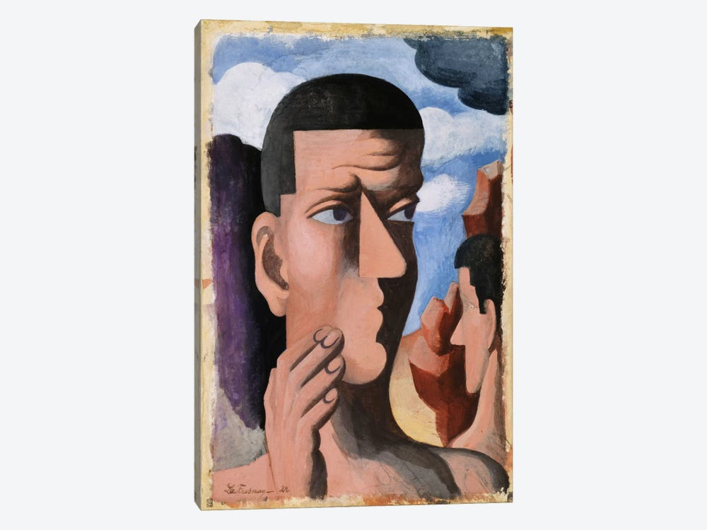 Castor and Pollux, 1922  by Roger de la Fresnaye 1-piece Canvas Art