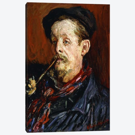 Portrait of Leon Peltier, 1879 Canvas Print #BMN6070} by Claude Monet Canvas Wall Art